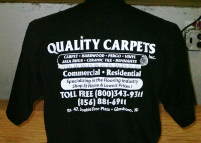Quality Carpet T-Shirt Screen Printing