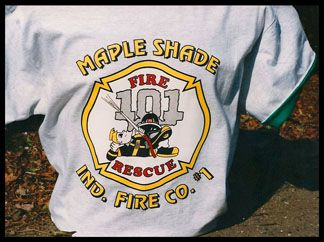 Maple Shade Fire Co. #1 T-Shirt