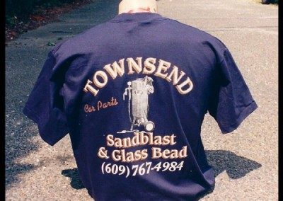 Townsend T-Shirt Screen Printing