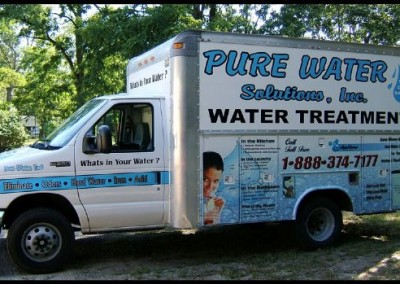 Pure water solutions fleet graphics