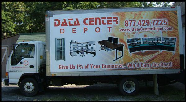 Data Center Depot Truck