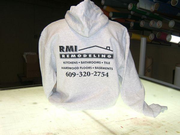 RMI Remodeling Hoodie Screen Print