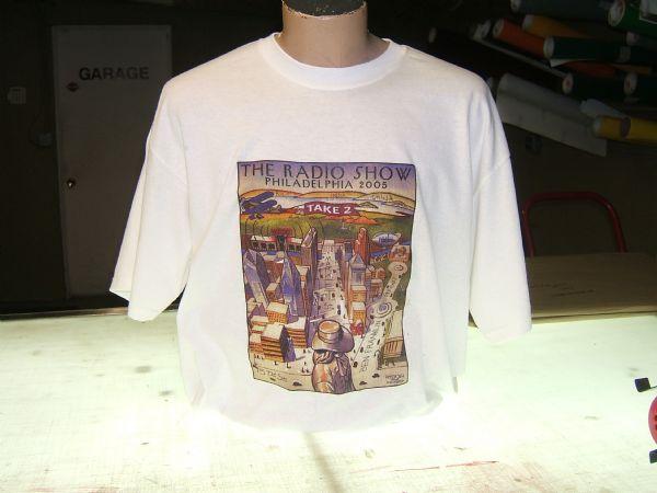 Radio Show Full Color T-Shirt