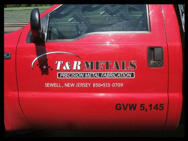 T&R Metals Truck Graphics
