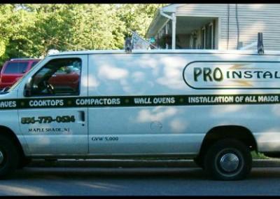 Proinstalls Truck Graphics