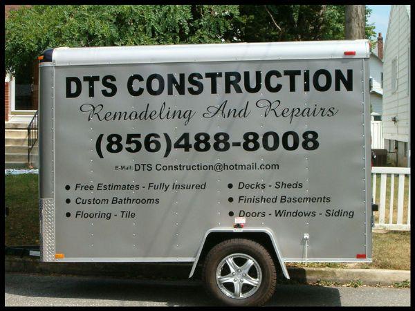 DTS Construction Trailer Graphics