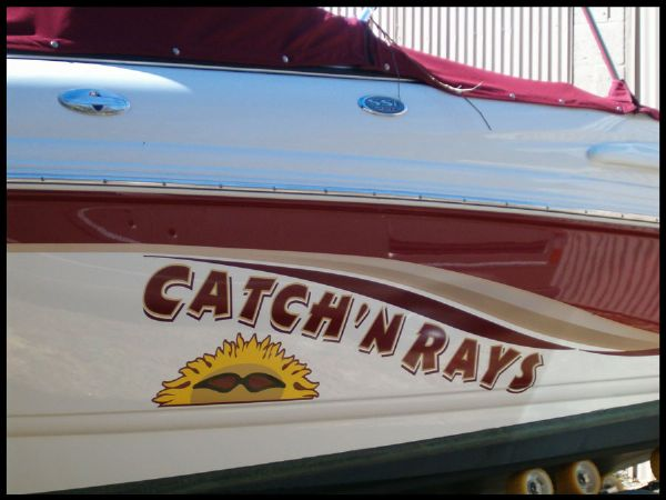 Catch'n Rays Boat Graphics