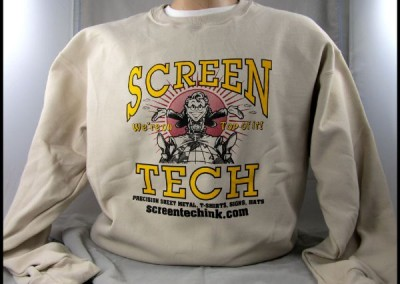 ScreenTech Sweatshirt Screen Printing
