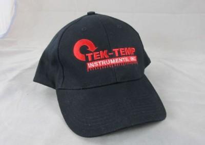 Tek Temp Hat Embroidery