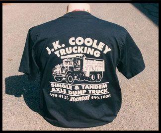 J.K. Cooley Trucking T-Shirt