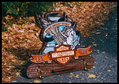 Harley Davidson Cycles Signs